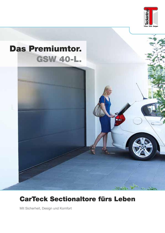 teckentrup sektionaltor gsw 40 l garagentore rolltore. Black Bedroom Furniture Sets. Home Design Ideas